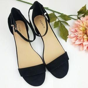 Torrid block heel sandal wide width size 12w